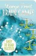 Large Print Brain Games - Eric Saunders