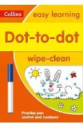Dot-to-Dot Age 3-5 Wipe Clean Activity Book -