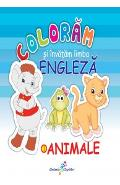 Coloram si invatam limba engleza Vol.1: Animale