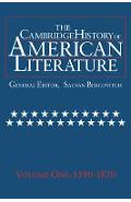 Cambridge History of American Literature: Volume 1, 1590-182