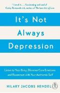 It's Not Always Depression - Hilary Jacobs Hendel