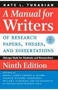 Manual for Writers of Research Papers, Theses, and Dissertat