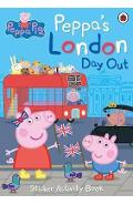 Peppa's London Day Out Sticker Activity Book -
