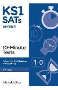 KS1 SATs Grammar, Punctuation and Spelling 10-Minute Tests - Carol Matchett