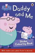 Peppa Pig: Daddy and Me Sticker Colouring Book -