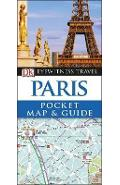 Paris Pocket Map and Guide -