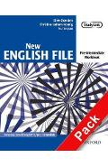New English File: Pre-intermediate: Workbook with key and Mu