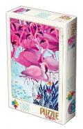 Puzzle 1000 Tropical Flamingo