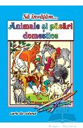 Sa invatam... Animale domestice - Carte de colorat