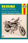 Suzuki GS550 and GS750 Fours 549cc 1977-82 and 748cc 1976-79