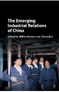 Emerging Industrial Relations of China