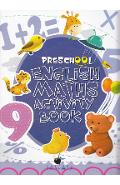 Preschool English Maths Activity Book