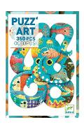 Puzzle Art 350. Octopus. Caracatita