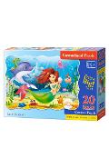 Puzzle 20 Maxi - Little Mermaid