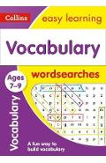Vocabulary Word Searches Ages 7-9