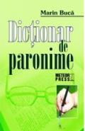 Dictionar de paronime - Marin Buca