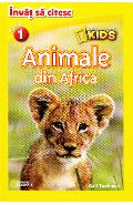 Animale din Africa - National Geographic Kids - Invat sa citesc nivelul 1