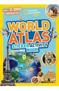World Atlas Sticker Activity Book -