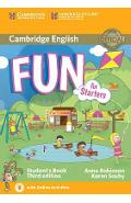 Fun for Starters Student's Book with Audio with Online Activ