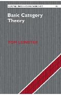 Basic Category Theory - Tom Leinster
