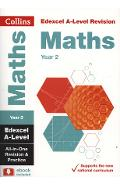 Edexcel A-level Maths Year 2 All-in-One Revision and Practic
