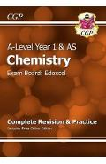New 2015 A-Level Chemistry: Edexcel Year 1 & AS Complete Rev