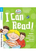 Read with Oxford: Stage 1: Biff, Chip and Kipper: I Can Read