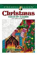 Creative Haven Christmas Color by Number - George Toufexis