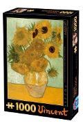 Puzzle 1000 Vincent Van Gogh - Sunflowers