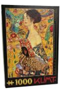 Puzzle 1000 Gustav Klimt - Lady With a Fan