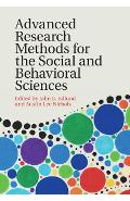 Advanced Research Methods for the Social and Behavioral Scie -