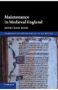 Cambridge Studies in English Legal History - Jonathan Rose