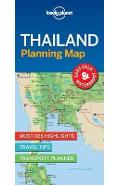 Lonely Planet Thailand Planning Map -