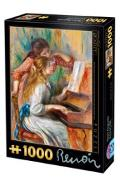 Puzzle 1000 Pierre Auguste Renoir - Girls At The Piano (66909-09)