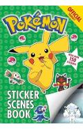 Official Pokemon Sticker Scenes Book