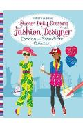 Sticker Dolly Dressing Fashion Designer London and New York