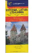Harta Estonia, Latvia, Lithuania