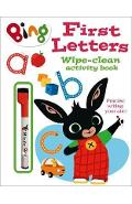 First Letters Wipe-clean activity book -
