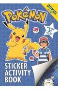 Official Pokemon Sticker Activity Book