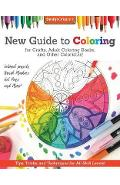 New Guide to Coloring for Crafts, Adult Coloring Books, and