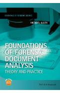 Foundations of Forensic Document Analysis - Michael J Allen