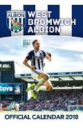 Official West Bromwich Albion FC Calendar 2018