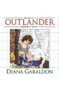Official Outlander Colouring Book