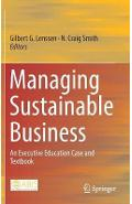 Managing Sustainable Business - Gilbert Lenssen