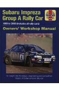 Subaru Impreza WRC Rally Car Owners Work
