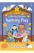 Little First Stickers Nativity Play - Felicity Brooks