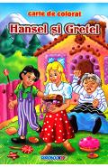 Hansel si Gretel B5 - Carte de colorat