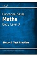 Functional Skills Maths Entry Level 3 - Study & Test Practic