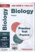 AQA GCSE 9-1 Biology Higher Practice Test Papers