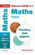 Edexcel GCSE 9-1 Maths Higher Practice Test Papers